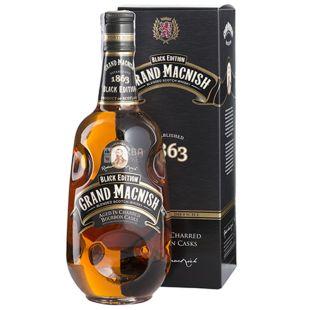 Grand MacNish, Виски, Black Edition, 0,7 л