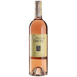 Les Hauts de Smith 2017, Вино розовое сухое, 0,75 л