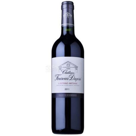 Chateau Fourcas-Dupre, Вино красное сухое 2011 0,75 л