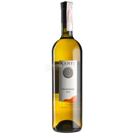 Chardonnay 2015, Kante, Вино белое сухое, 0,75 л
