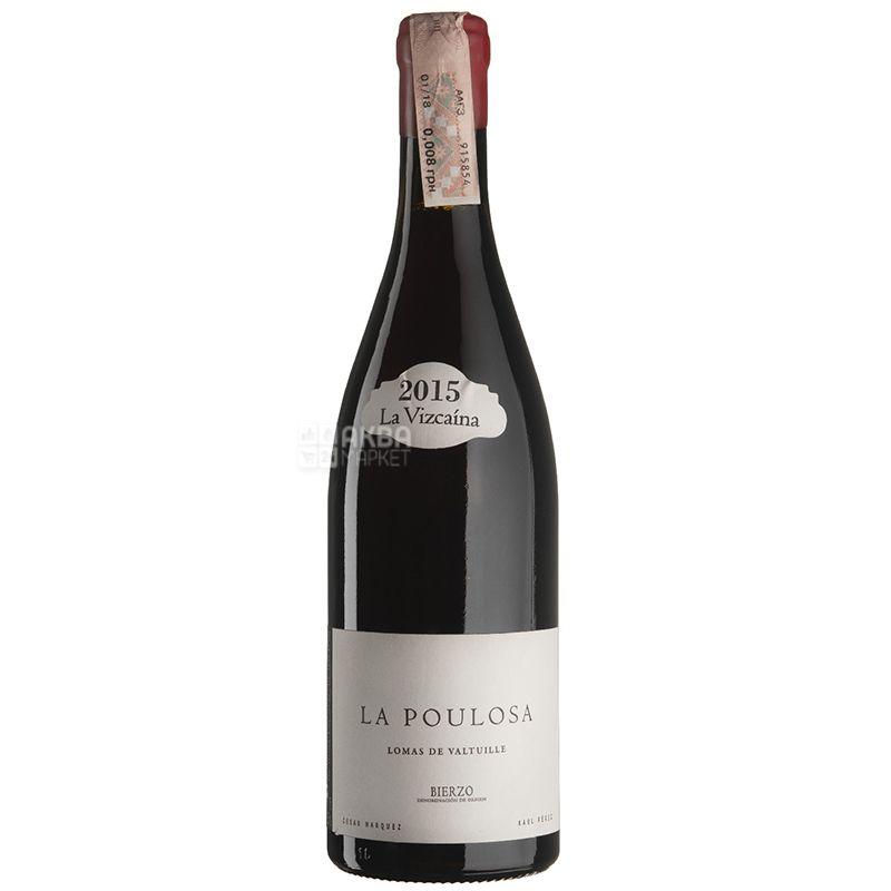 Poulosa 2015 року, Raul Perez, Вино червоне сухе, 0,75 л