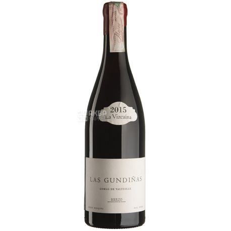 Gundinas 2015, Raul Perez, Вино красное сухое, 0,75 л