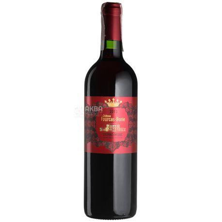 Chateau Fourcas Borie 2013, Вино красное сухое, 0,75 л
