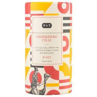 P&T, Cederberg, 100 г, Чай ПиТи, Седерберг, без кофеина, пряно-сладкий, органический, тубус