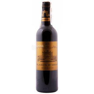 Blason d'Issan Вино красное сухое, 0,375 л