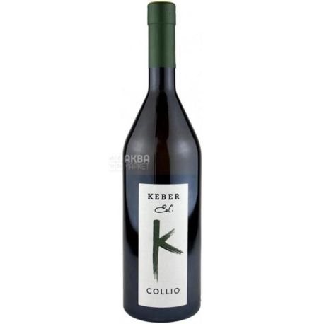 Collio Keber Edi Вино белое сухое, 0,75 л