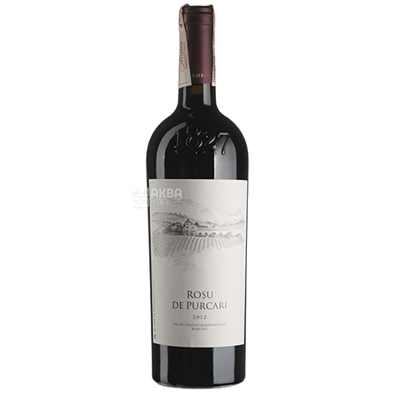 Rosu De Purcari, Вино красное сухое, 0,75 л