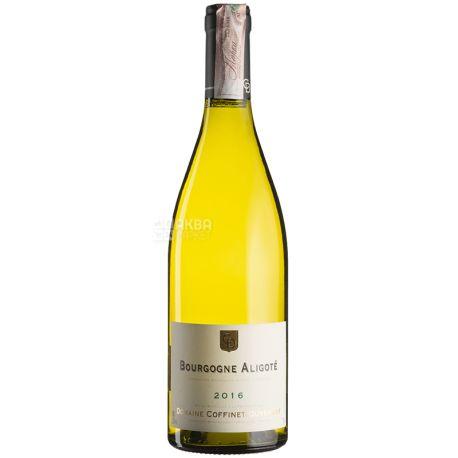 Coffinet-Duvernay, Bourgougne Aligote, Белое сухое вино, 0,75 л