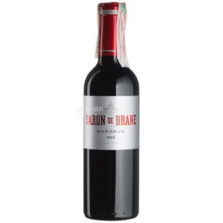 Baron de Brane Вино червоне сухе, 0,375 л