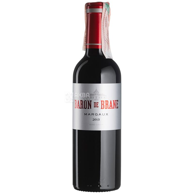 Baron de Brane Вино красное сухое, 0,375 л