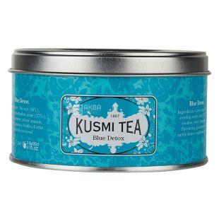 Kusmi Tea, Blue Detox, 125 г, Чай зеленый, мате Кусми Ти, Блю Детокс, ж/б