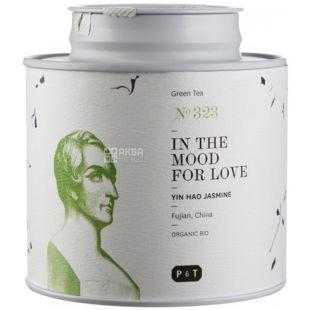 P & T, In the mood for love,  80 г, Пи Ти, Чай зеленый с жасмином, органический, ж/б