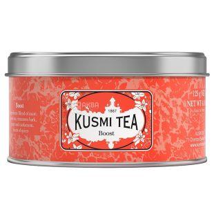 Kusmi Tea, Boost, 125 г, Чай зеленый, мате Кусми Ти, Подъем, ж/б