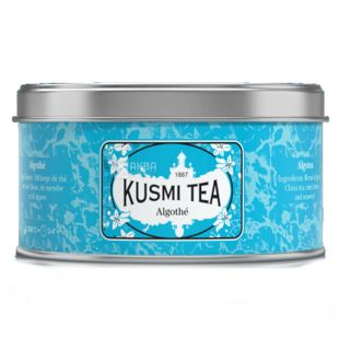 Kusmi Tea Algothe Чай зелений с мятой и водорослями, 20 пак.