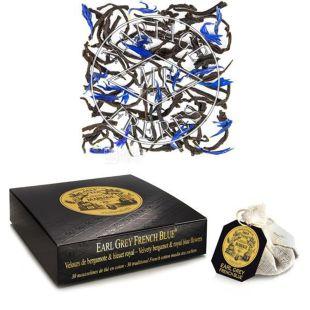 Black tea, Earl Gray French Blue, 75 g, TM Mariage Freres