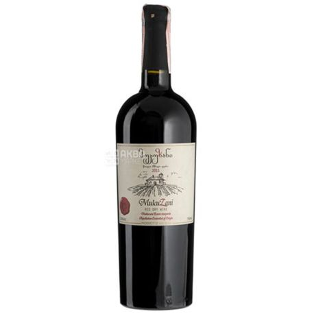 Mukuzani, Вино красное сухое 0,75 л