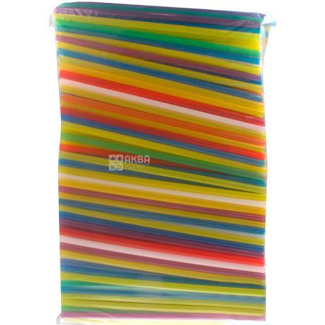 HoReCa, Соломка Фреш MAXI, 23 см, цветные, 500 шт.