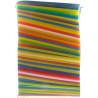 HoReCa, Соломка Фреш MAXI, 23 см, кольорові, 500 шт.