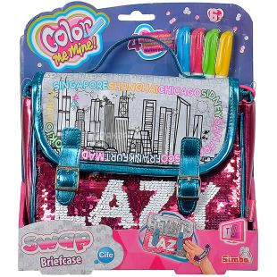 Simba Color Me Mine, Set for creativity, Chameleon bag portfolio, to children since 6 years
