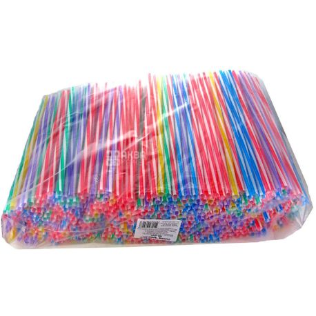 Assistant, Fresh Screw straw, assorted, 500 pcs.