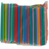 Помощница, Соломка алкогольная, 12,5 см, цветные, 500 шт.