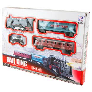 Rail King, Іграшкова залізниця, пластик, метал, дітям від 2-х років