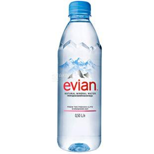 Evian, Вода негазированная, 0,5 л, ПЭТ