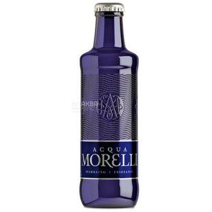 Acqua Morelli, Вода минеральная газированная, 0,25 л, стекло