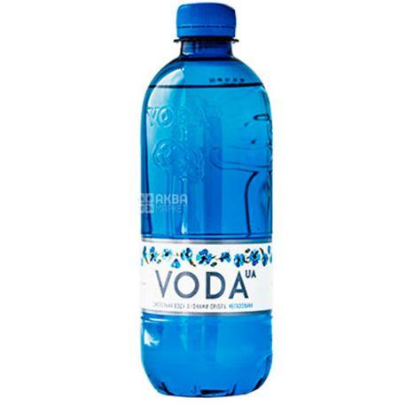 VODA UА, 0,5 л, Вода ЮА, Вода негазированная, ПЭТ
