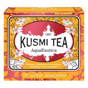 Kusmi Tea, Fruit Tea, Aqua Exotic, 20x2.2 g