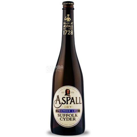 Aspall Dry Premier Cru, Сидр яблочный, 0,5 л