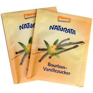 Naturata Bourbon Vanillezucker, Vanilla Sugar, 8 g