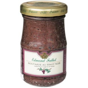 Edmond Fallot, Дижонская горчица, С красным вином, 100 г