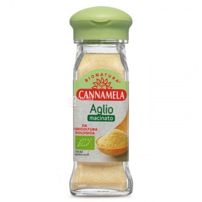 Cannamela, Часник в гранулах органічний, 70 г