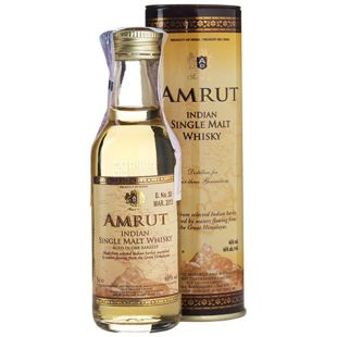 Amrut Cask Strength, Виски, 61,8 %, 0,05 л