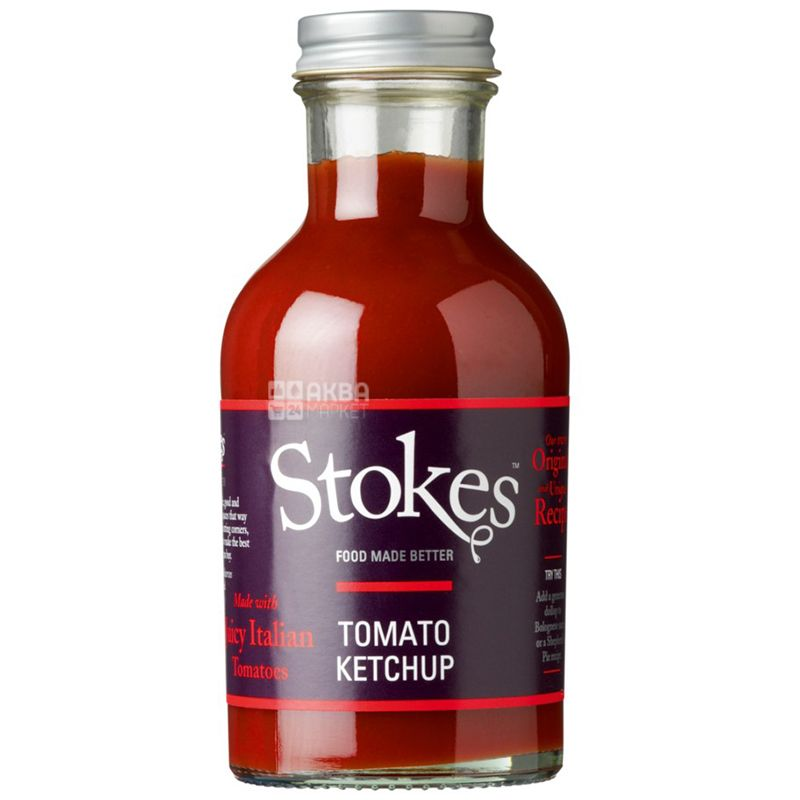 Stokes, Кетчуп томатный, 300 г