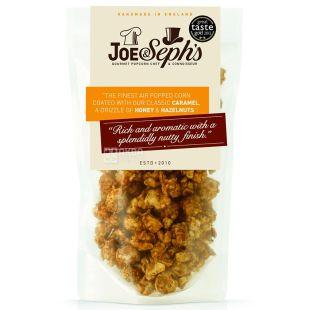 Joe & Seph's, Popkorn with honey and funduk, 80 g