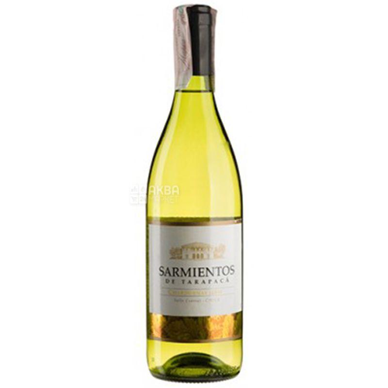 Tarapaca Chardonnay Sarmientos, Вино белое сухое, 0,75 л