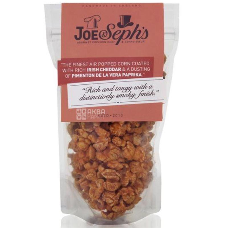 Joe & Seph's, Попкорн, с копченой паприкой и сыром Чеддер, 70 г
