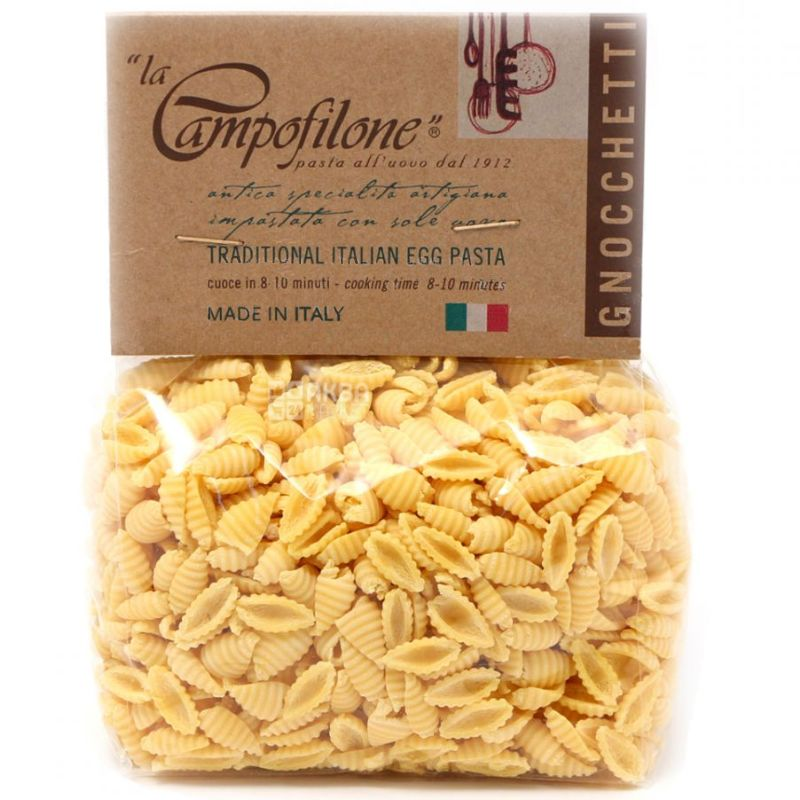 La Campofilone Gnocchetti, 250 г, Макароны Паста яичная Ла Кампофилоне Ньоккетти