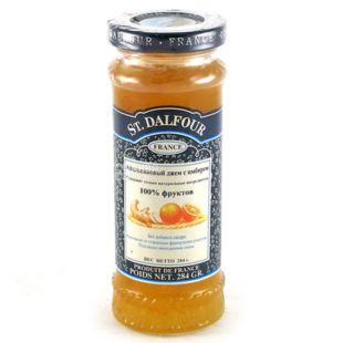 Gem St. Dalfour (Saint Dalfour) Orange and Ginger, 284 g, Glass