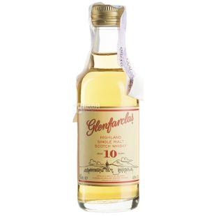 Glenfarclas 10yo, Single Malt Whiskey, 0.05 L