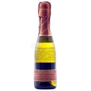 Bortolomiol, Игристое вино белое экстра-сухое Senior Valdobbiadene, 0,2 л