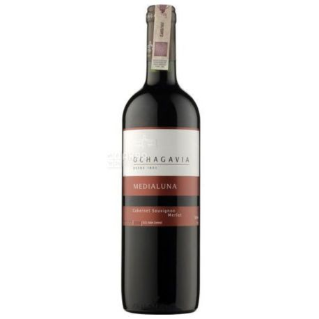 Ochagavia Cabernet Merlot Medialuna, Вино красное сухое , 0,75 л