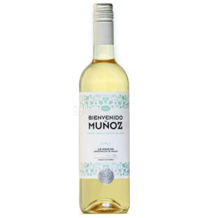 Bienvenido Munoz Airen Sauvignon Blanc, Вино белое сухое, 0,75 л