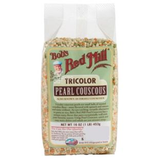 Bob's Red Mill, Tricolor Pearl Couscous, 453 г, Бобс Ред Милл, Кускус трехцветный