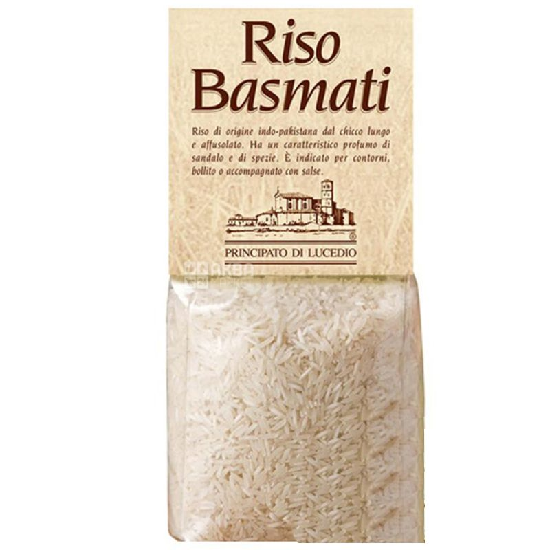 Principato di Lucedio, 0,5 кг, Рис Принчипато де Лючедио, Басмати