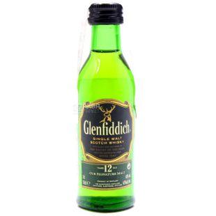 Glenfiddich, Виски, 12 лет, 0,05 л