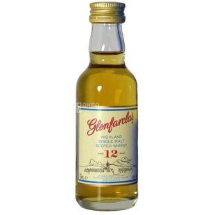 Glenfarclas, Single Malt Whiskey, 12 years, 0.05 L