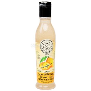 Leonardi, Бальзамическая глазурь белая со вкусом лимона, 220 г